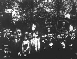 Karl Liebknecht auf deutsch-französischer Friedenskundgebung, 194